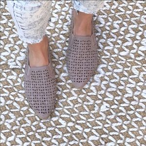 Perforated Loafer Flat NWT